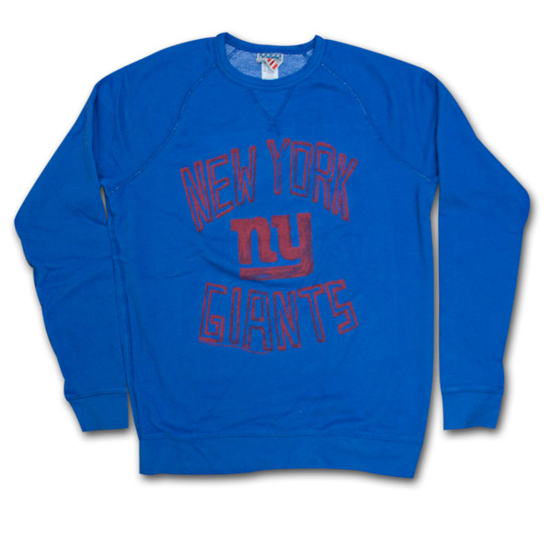 40bc543cb New York Giants Vintage Junk Food Brand Sweatshirt