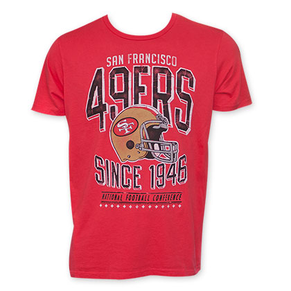 Junk Food NFL San Francisco 1946 Red Tee Shirt