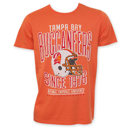 Junk Food NFL Tampa Bay Buccaneers Faded Men's Tee Shirt