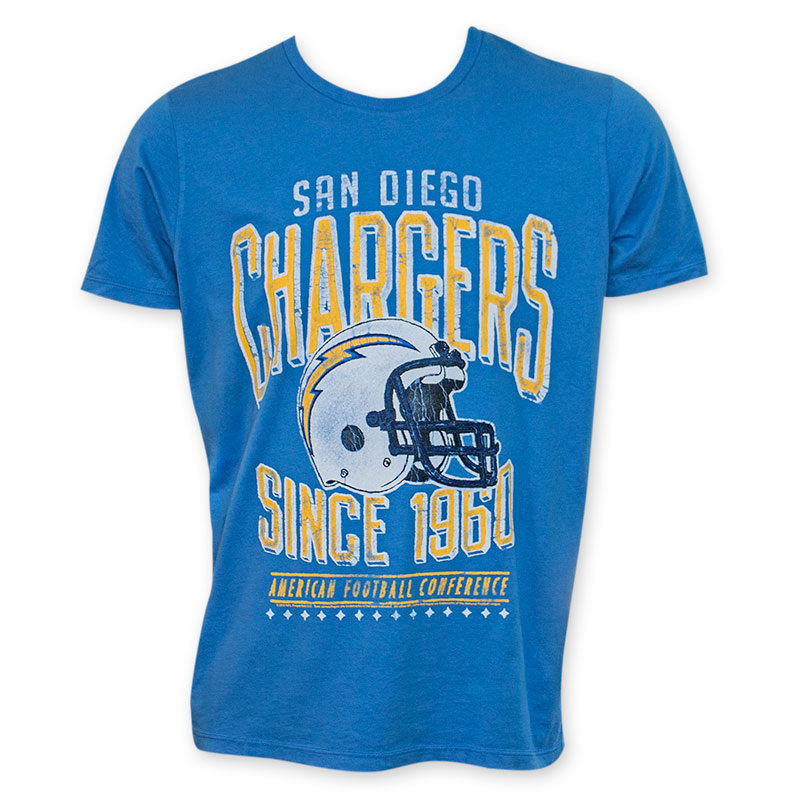 Junk Food Blue San Diego Chargers 1960 Nfl T Shirt