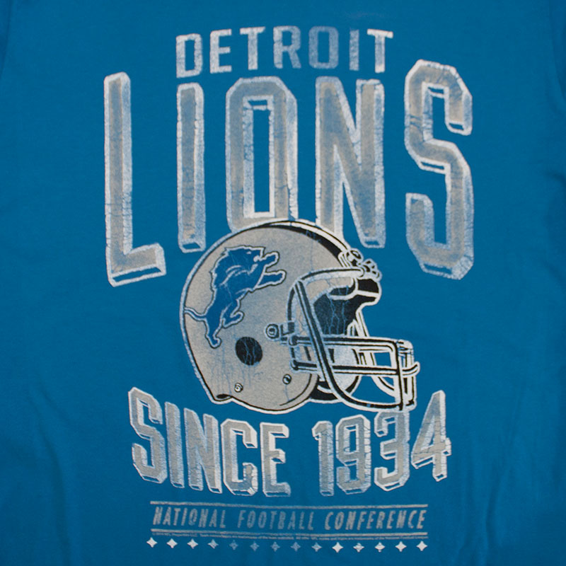 Junk Food Detroit Lions NFL Retro T-Shirt