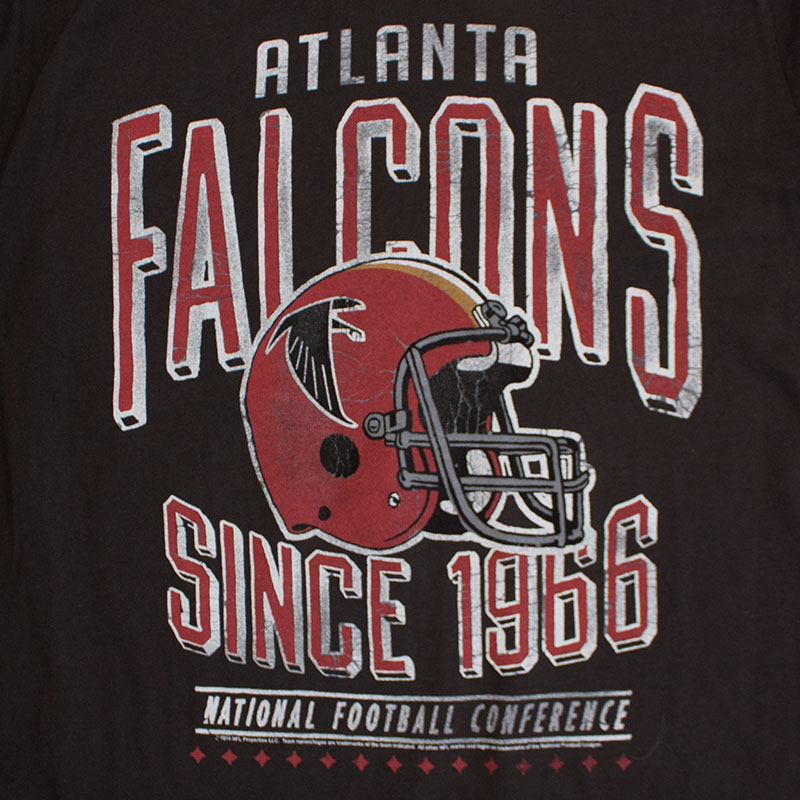 Junk Food Retro NFL Atlanta Falcons Men's Tee Shirt