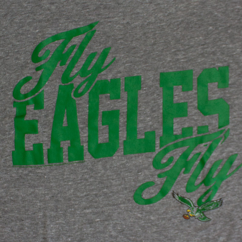 Junk Food NFL Fly Eagles Fly Men's Philadelphia Eagles Tee Shirt