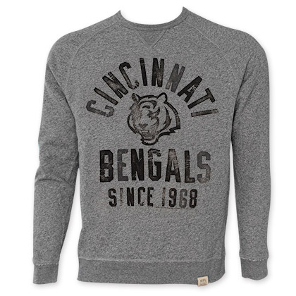 NFL Cincinnati Bengals Men's Since 1968 Junk Food Crewneck Sweatshirt