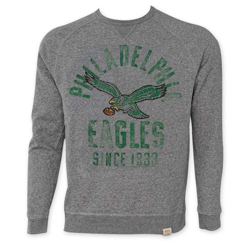 nfl philadelphia eagles mens since 1933 crewneck sweatshirt