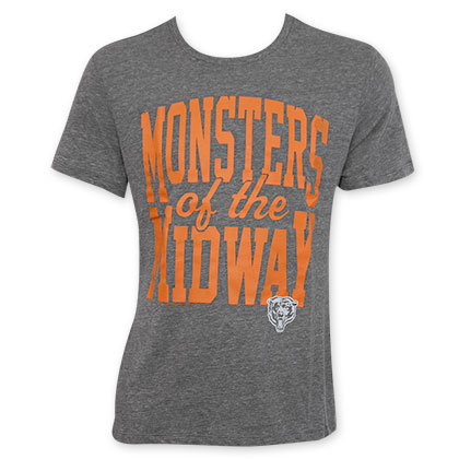 Junk Food Chicago Bears Monsters Of The Midway NFL T-Shirt