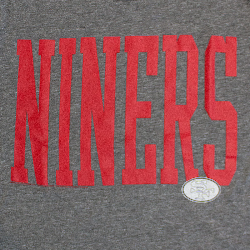 Junk Food Grey San Francisco 49ers NFL Niners T-Shirt