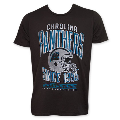 Junk Food Black Carolina Panthers 1995 NFL T-Shirt
