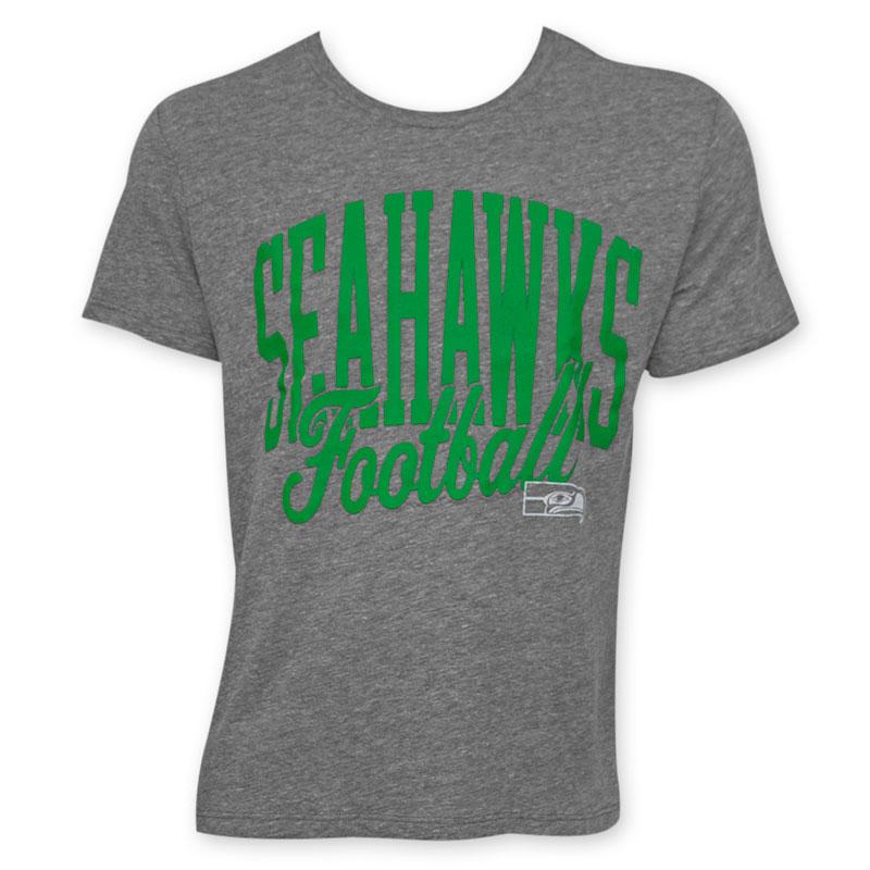 Junk food nfl seahawks football men 39 s seattle seahawks tee for Seahawks t shirt womens walmart