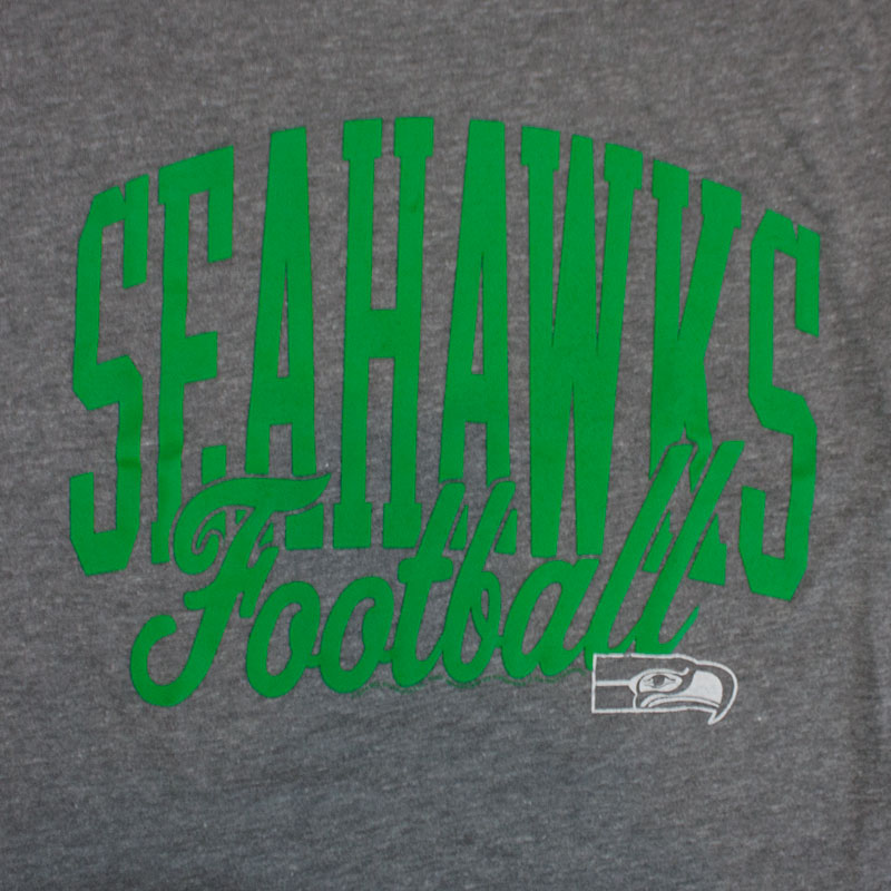 Junk Food NFL Seahawks Football Men's Seattle Seahawks Tee Shirt