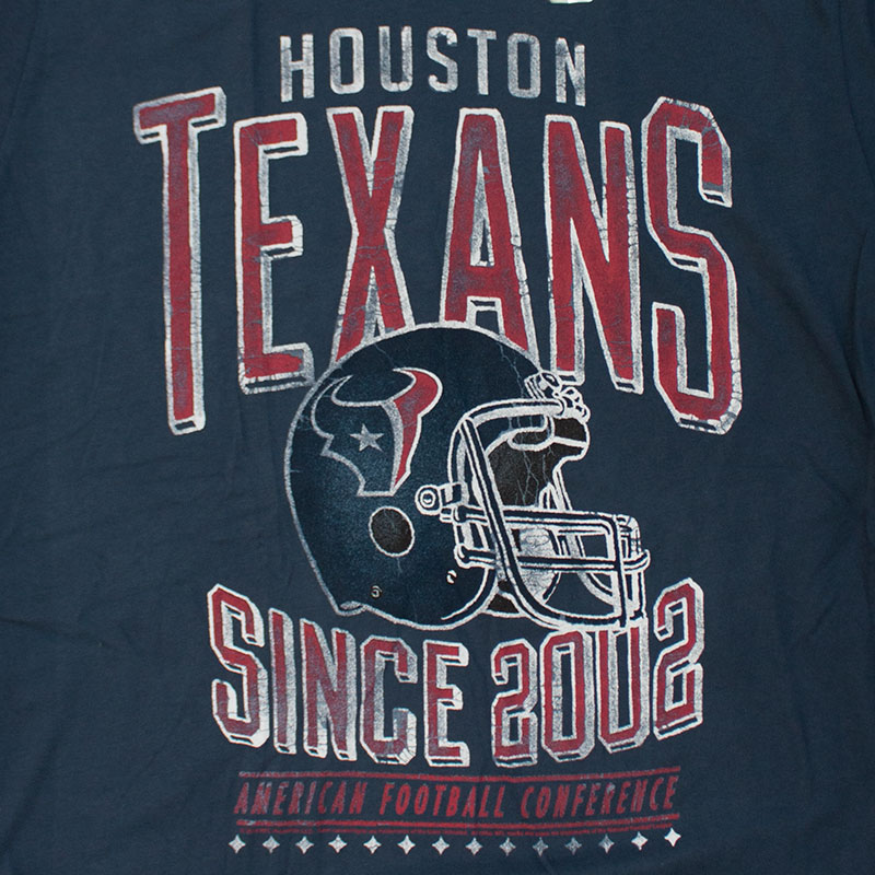 Junk Food Retro NFL Houston Texans Men's Tee Shirt