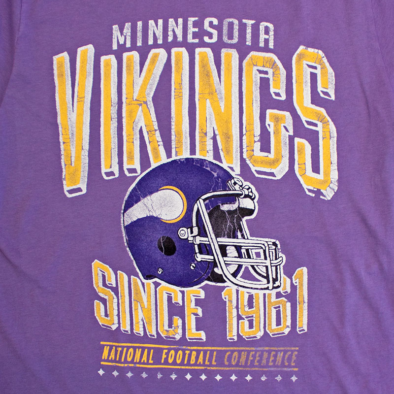 Junk Food Retro NFL Minnesota Vikings Men's Tee Shirt