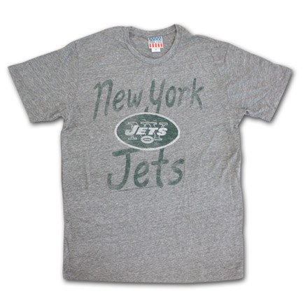 New York Jets Fan T-Shirt - Grey