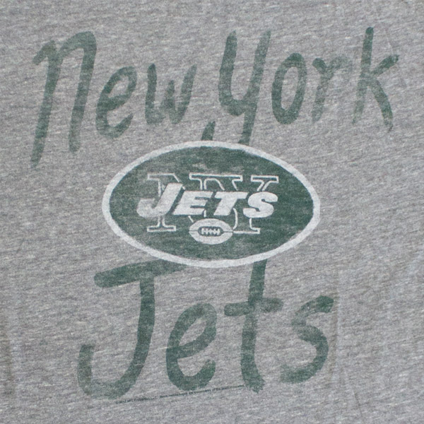 New York Jets Superfan Tee - Grey