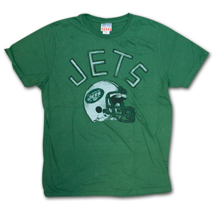 New York Jets Vintage Logo Junk Food Brand Tshirt