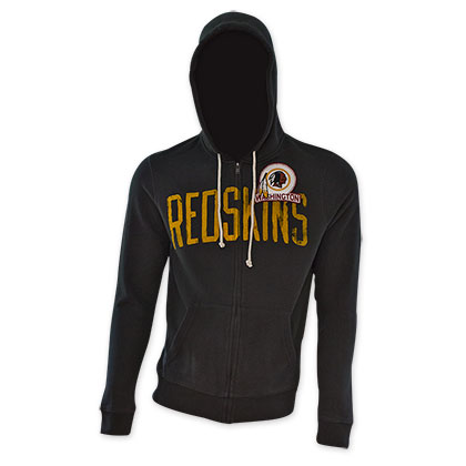 NFL Washington Redskins Black Junk Food Hoodie