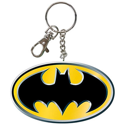 Batman Logo Bendable Keychain
