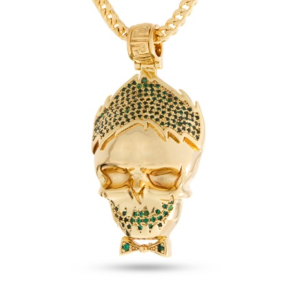 Suicide Squad Joker Gold Necklace