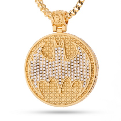 Batman Gold Necklace