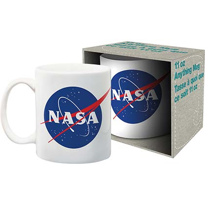 NASA Logo 11oz White Mug