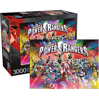 Power Rangers 3000pc 32x45in Jigsaw Puzzle