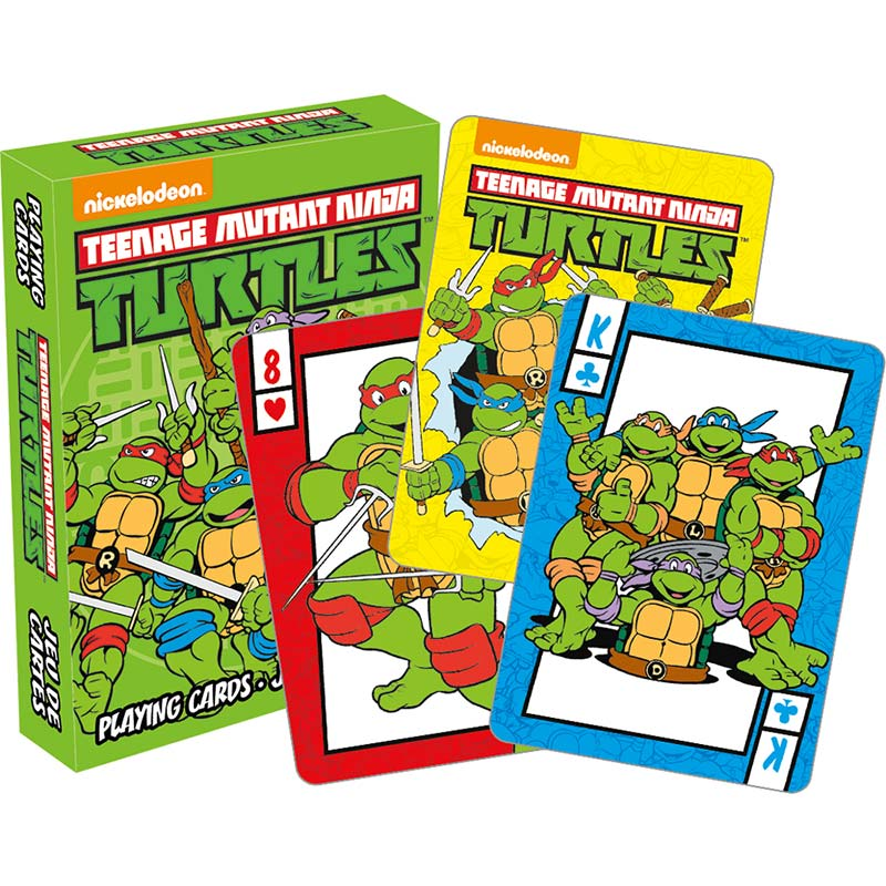 Teenage Mutant Ninja Turtles Playing Cards