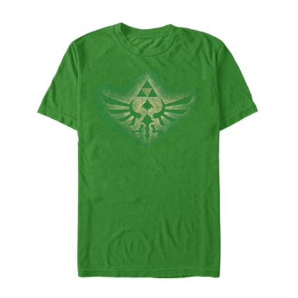 Legend of Zelda Triforce Spray Tshirt