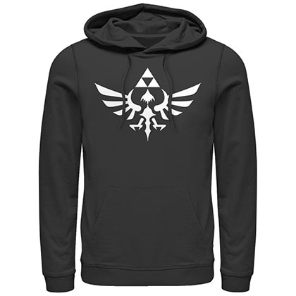 Nintendo Legend of Zelda Triumphant Triforce Black Pullover Hoodie
