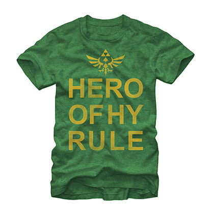 Nintendo Legend Of Zelda Hyrule Hero Green T-Shirt