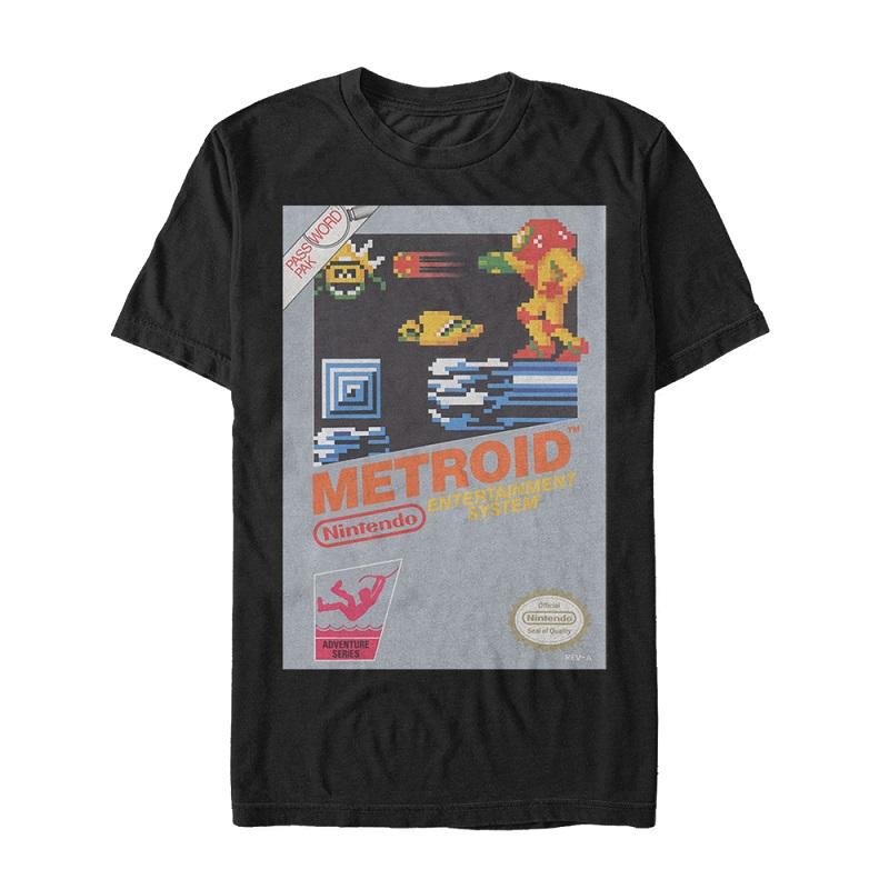 Metroid NES Cover Tshirt