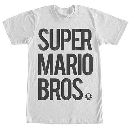 Nintendo Super Mario Bros. White T-Shirt