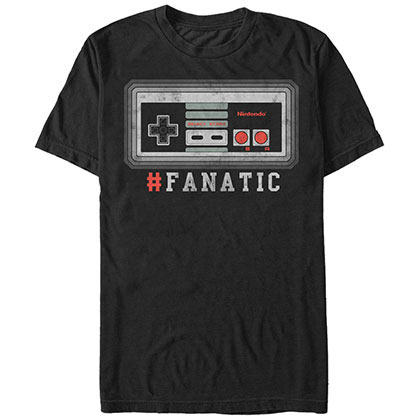 Nintendo NES Addict Black T-Shirt