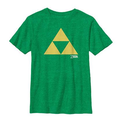 Nintendo Toraifosu Green T-Shirt