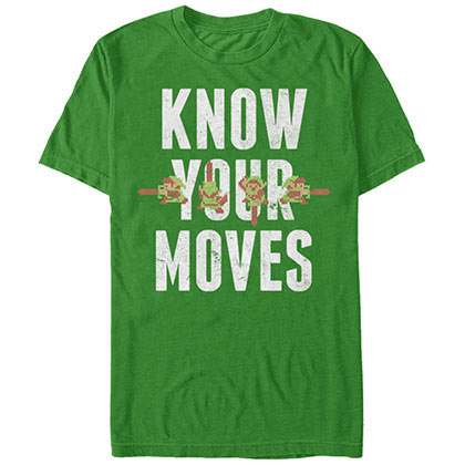 Nintendo Your Moves Green T-Shirt