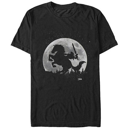 Nintendo Moon Black T-Shirt