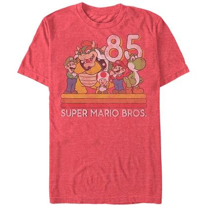 Mario 85 Characters Tshirt