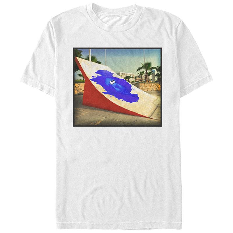 Nintendo  Ink Park White T-Shirt