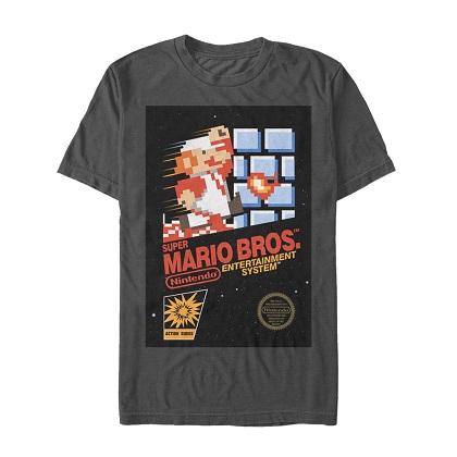 Mario Super Mario Brothers Cover Tshirt