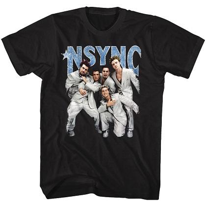 NSYNC Strike A Pose Tshirt
