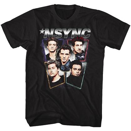 NSYNC Heads Tshirt