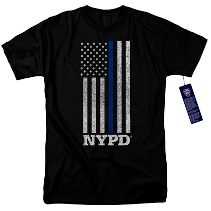 New York City NYPD Patriotic Tshirt