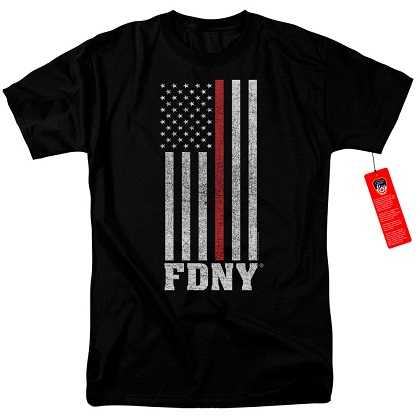 New York City FDNY Patriotic Tshirt