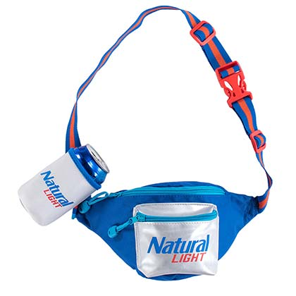 Natural Light Beer Holster Fanny Pack
