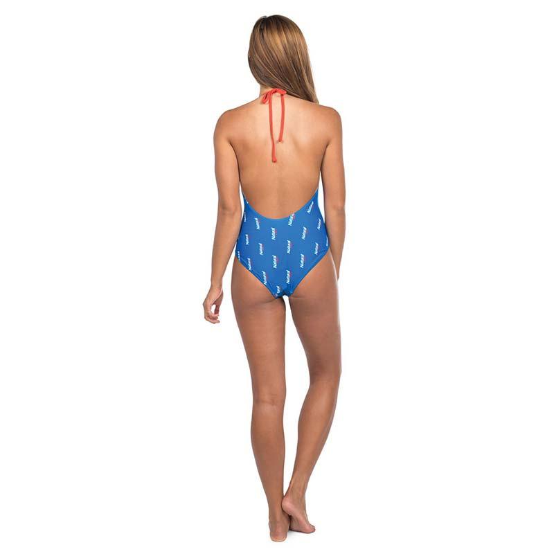 Natural Light Women's Blue One Piece Swimsuit