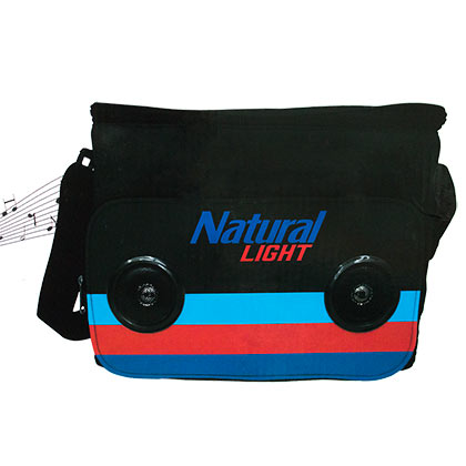 Natural Light 24 Can Bluetooth Speaker Cooler Bag