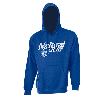Natty Light Logo Royal Blue Hoodie