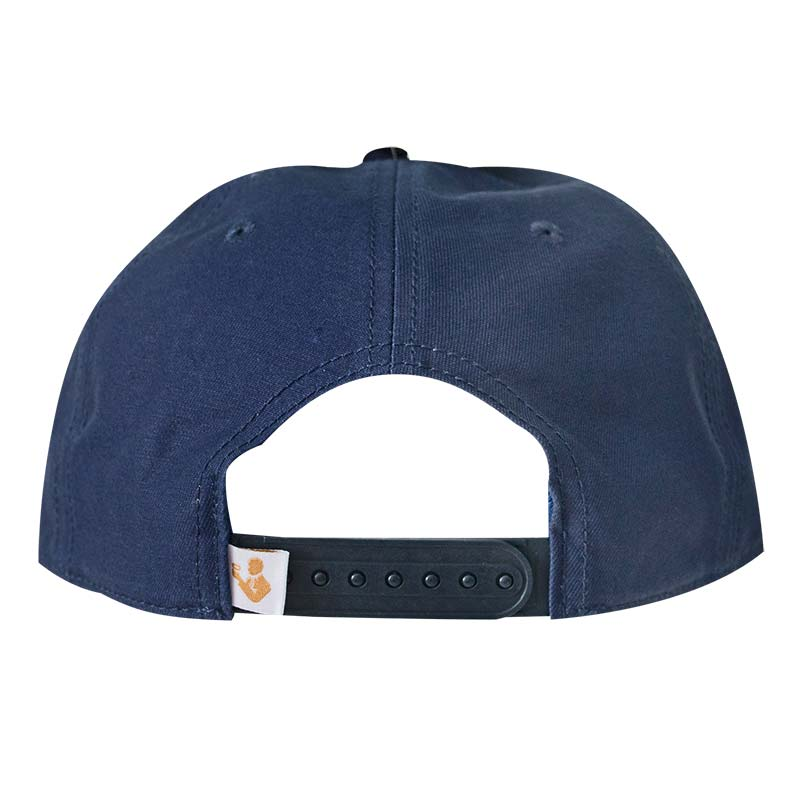 02ca6cd2f8cb8 Natural Light Retro Label Rowdy Gentleman Navy Blue Snapback Hat