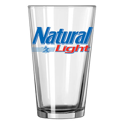 Natural Light Pint Glass
