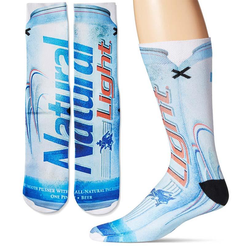 Cotton Natural Light Beer Socks