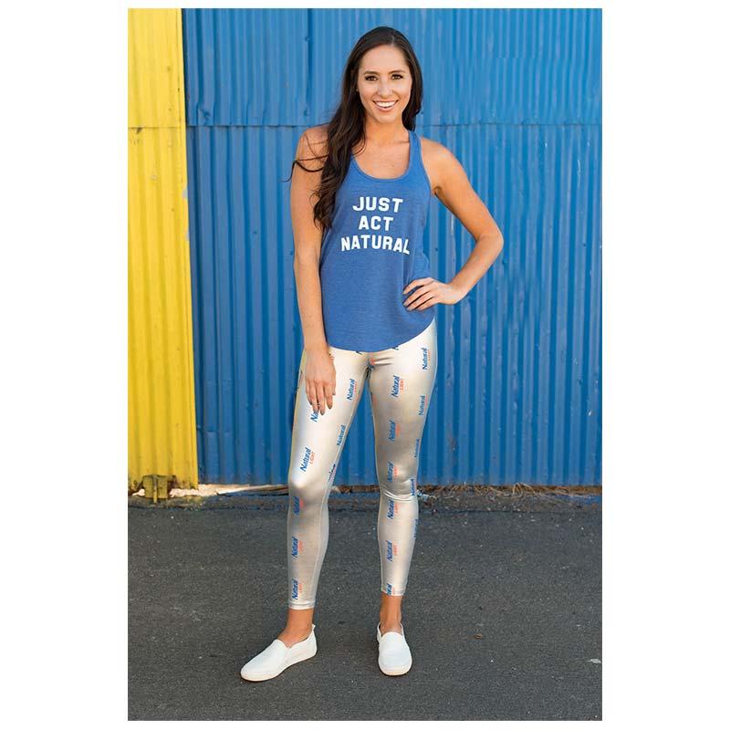 Natural Light Silver Leggings